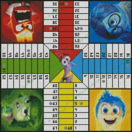 Inside Out parchis