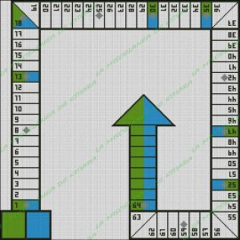 Basic Parchis 2 players