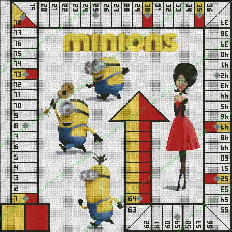 Minions Parchis 2 players