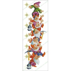 Height Chart The Seven Dwarfs