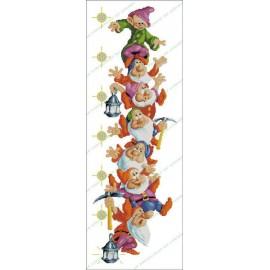 Height Chart The Seven Dwarfs