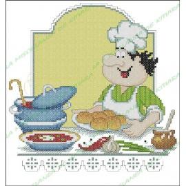 Chef Povaryata - Borsch con panecillos