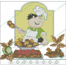 Chef Povaryata - Castañas asadas