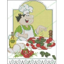Povaryata Chef - Caprese salad