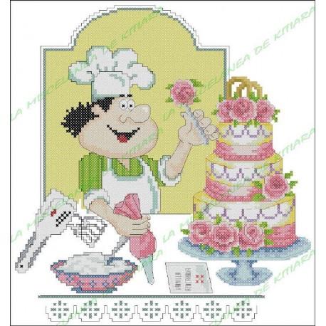 Chef Povaryata - Pastel de bodas