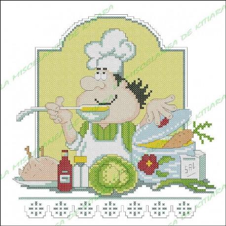 Chef Povaryata - Sopa de Dieta