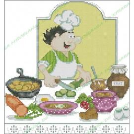 Povaryata Chef - soup Okroshka