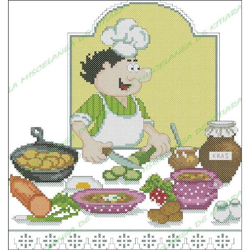 Chef Povaryata - Sopa Okroshka