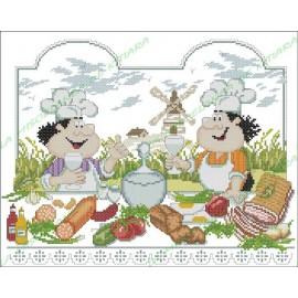 Povaryata Chef - friends cooks