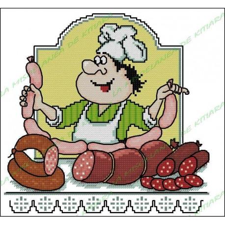 Povaryata Chef - sausages