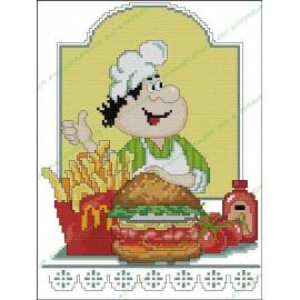Povaryata Chef - Burger