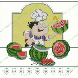 Povaryata Chef - fresh watermelon