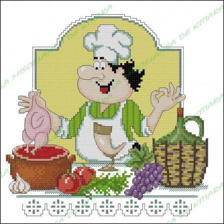 Chef Povaryata - Sopa de pollo