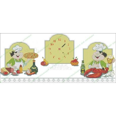 Povaryata Chef - Clock