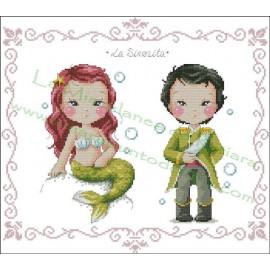 Príncipes y Princesas De Cuento - La Sirenita