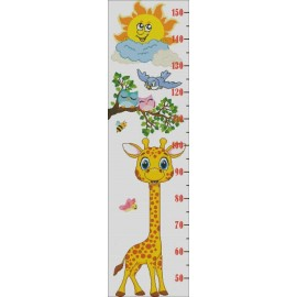 Height Chart Giraffe