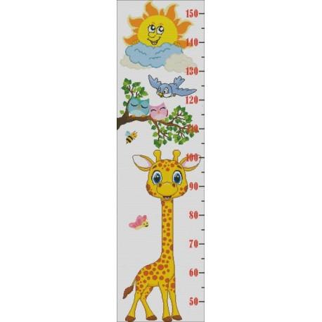 Height Chart Giraffe