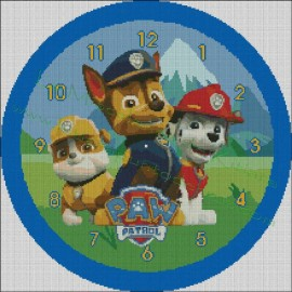 Clock Canine Patrol