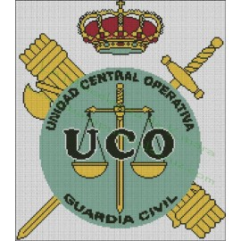 UCO Emblem - Guardia Civil