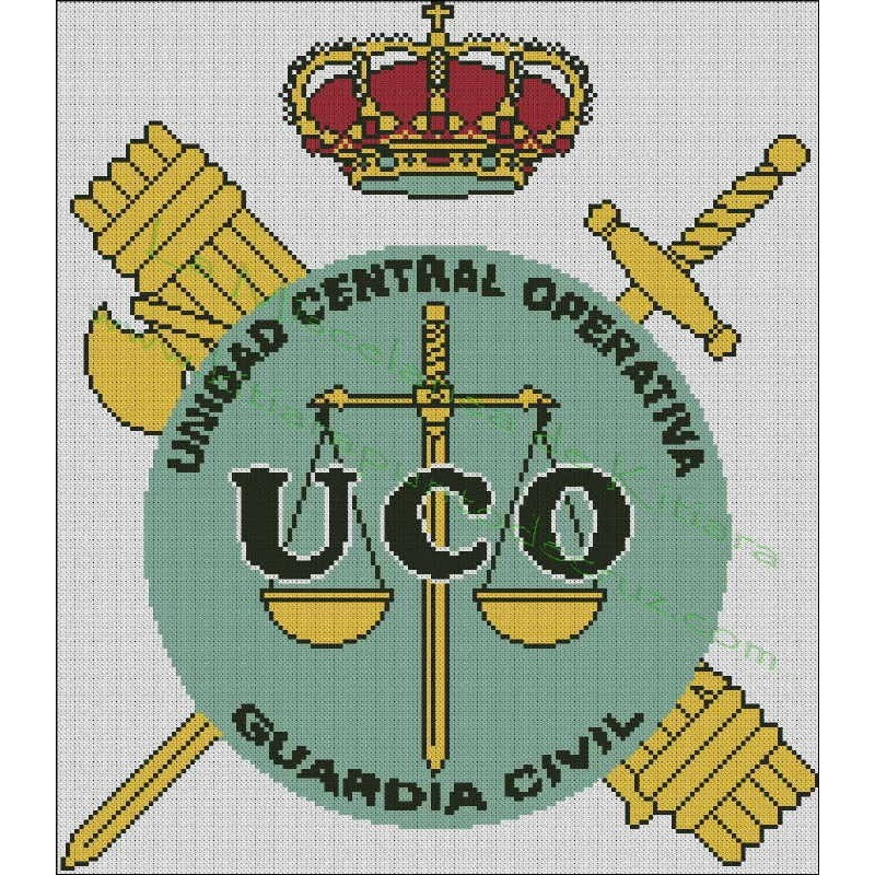 Emblema UCO - Guardia Civil