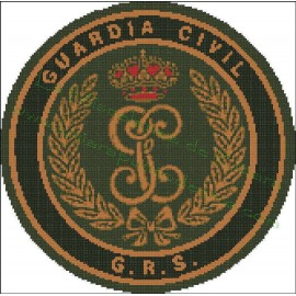 GRS Emblem - Guardia Civil