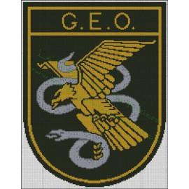 GEO Emblem - Policía Nacional
