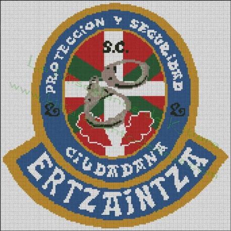 Seguridad Ciudadana Emblem - Ertzaintza