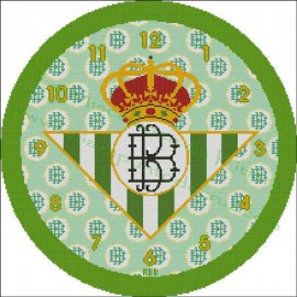 Clock Real Betis Balompie