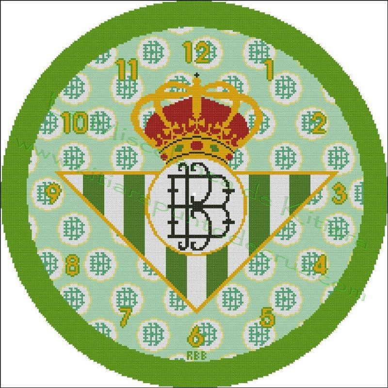 Clock Real Betis Balompie