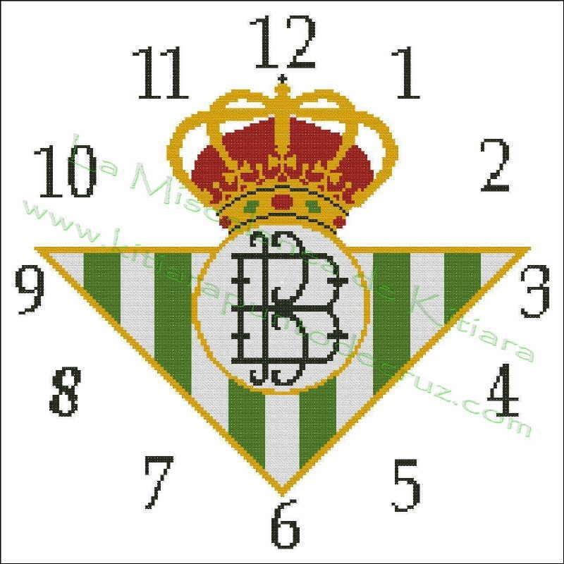 Clock Real Betis Balompie 2