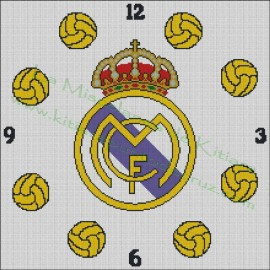 Clock Real Madrid 2
