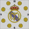 Clock Real Madrid 2