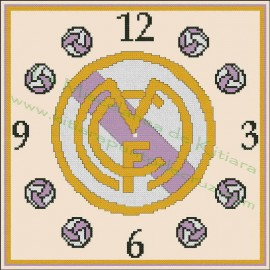Clock Real Madrid 3