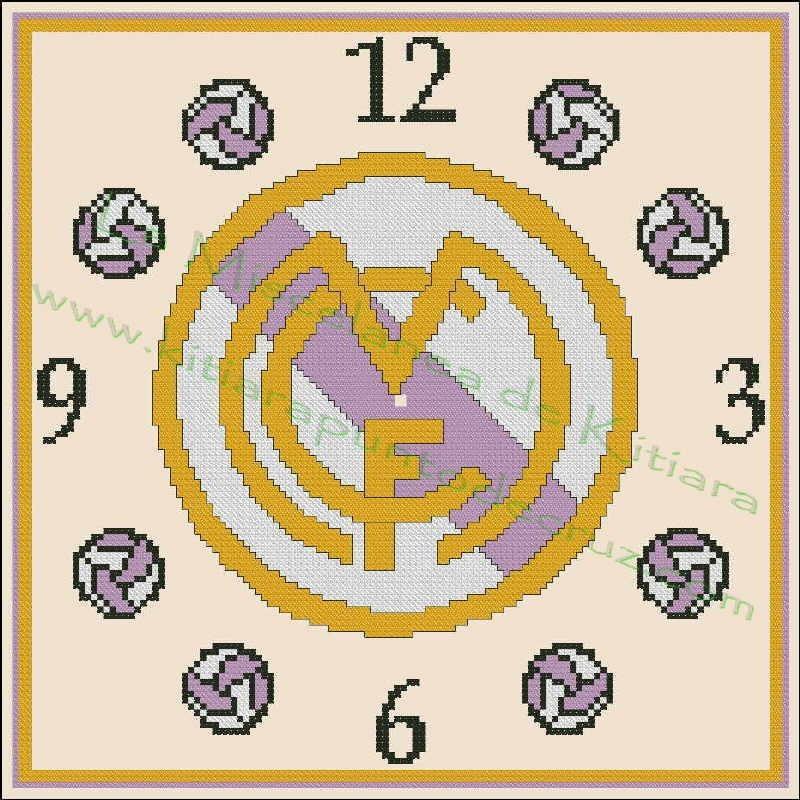 Clock Real Madrid 3