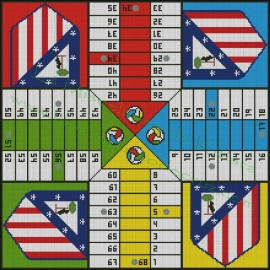 Atlético de Madrid Parchis