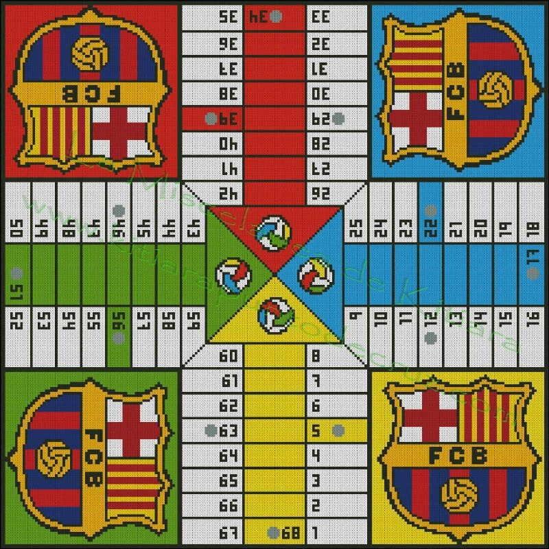F C Barcelona Parchis
