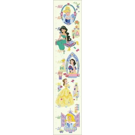 Height Chart Disney Princess
