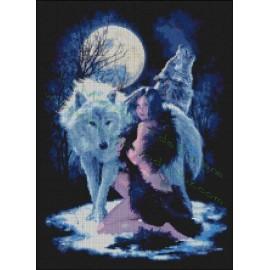Lobos con India