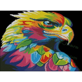 Multicolored Eagle