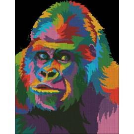 Orangután Multicolor