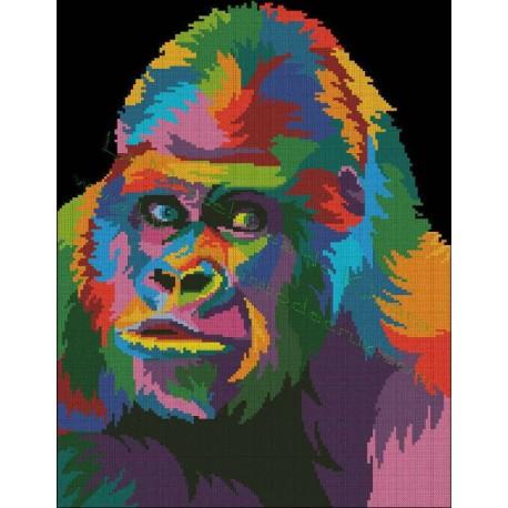 Multicolored Orangutan