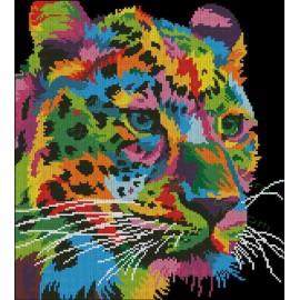 Multicolor Leopard