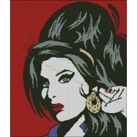 Amy Winehouse Pop Art