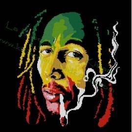 Bob Marley Multicolor