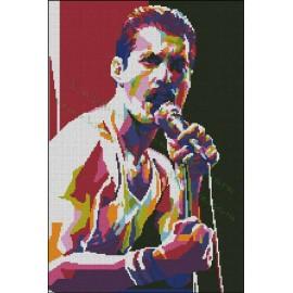 Freddie Mercury Multicolor