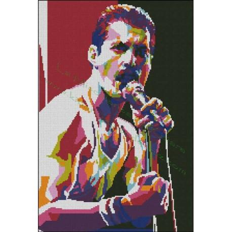 Freddie Mercury Multicolored