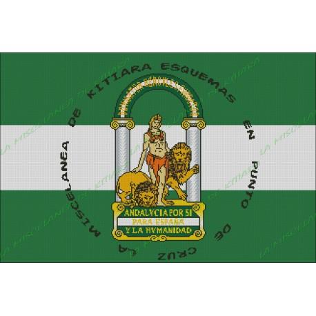 Bandera Andaluza Personalizada