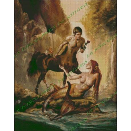El Centauro y la Sirena