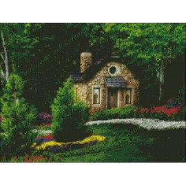 Casa de Piedra entre Flores