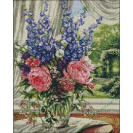 Jarrón con flores 1